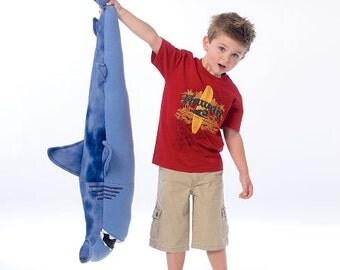 McCall's Sewing Pattern M7103 Stuffed Sharks