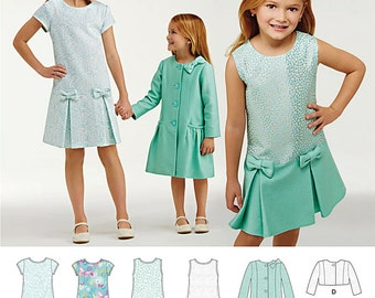 Simplicity Sewing Pattern 1174 Child's and Girls' Dress, Coat and Jacket