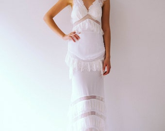 Heidi gown Boho dress SAMPLE SALE