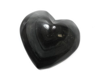 "Rainbow obsidian heart 2"" small"