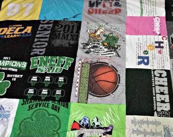 Completely Custom T-Shirt Quilt - Full
