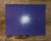 1957 - Vintage Star Populations Print - Mid Century Solar System Color Plate
