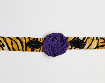 LSU Tigers - Fabric Flower Headband