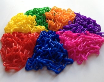 Plastic Chain 2mm - 35 ft - Variety Pack