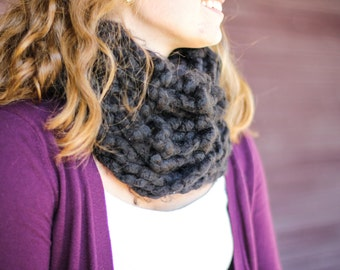 One loop, thick to keep warm and cozy