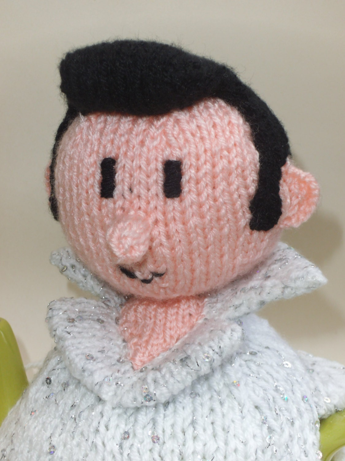 Elvis Presley Tea Cosy Knitting Pattern to Knit Your Own ...