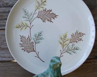 Stetson China Company Oak Leaf Plate