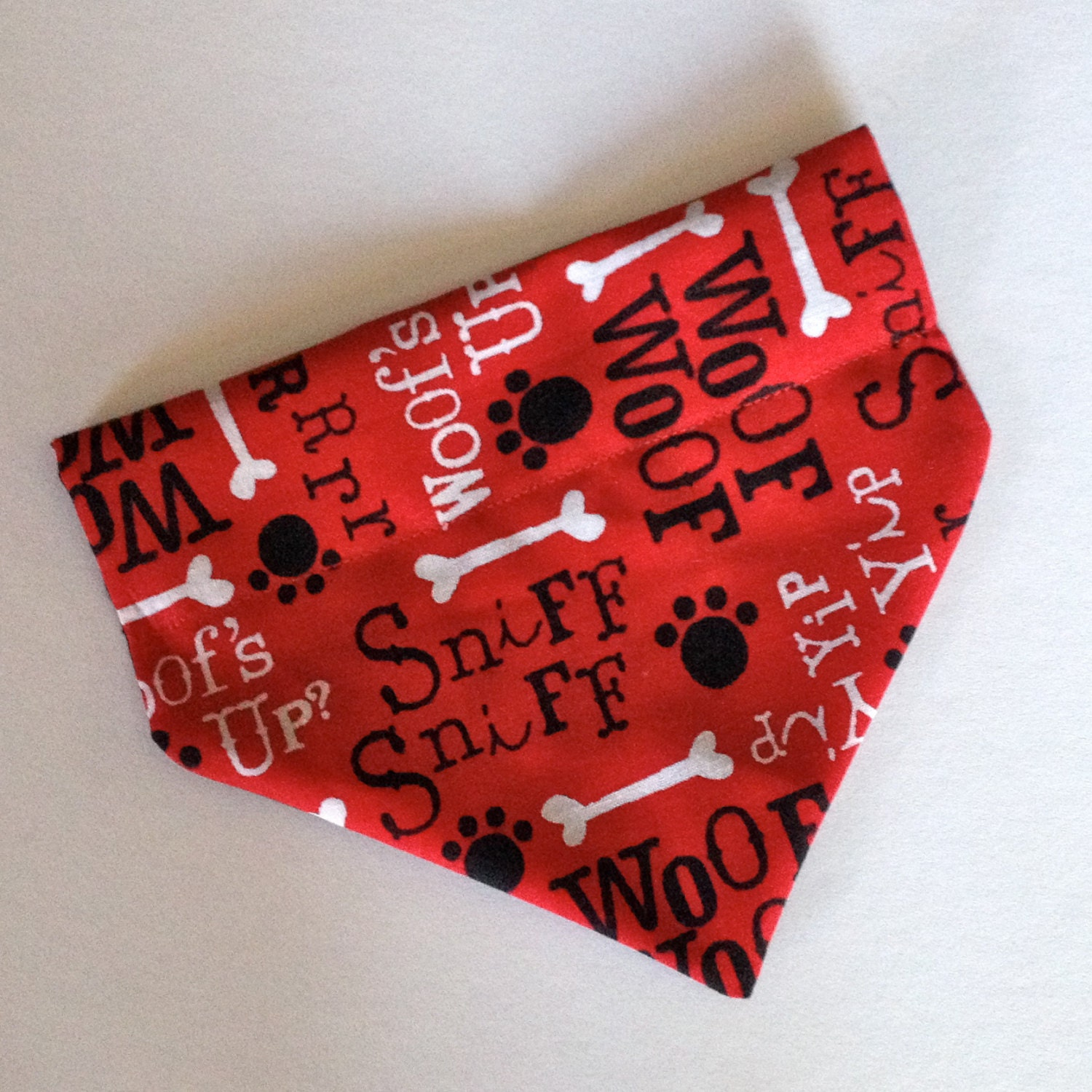 bandana no tie slip collar and by itssisterstuff
