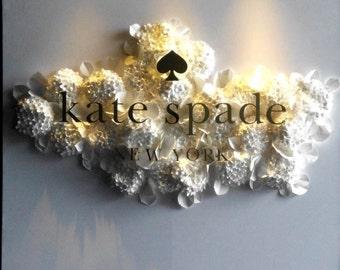 One set of Paper Hydrangea Flower Backdrop