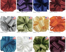 """1/8"""" DF SATIN - Dainty Double Face Satin by Offray - 30 yards - Select Color - Narrow Ribbon"""