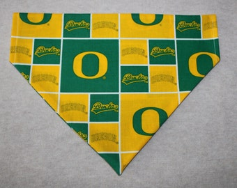 Oregon Ducks Dog Bandanna in Small, Medium, & Large
