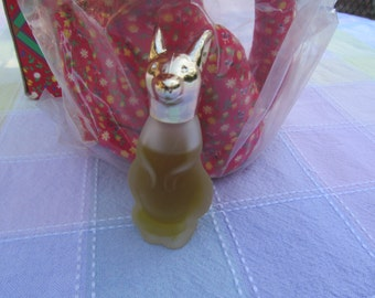 Vintage Avon  Stuffed  Kangaroo  Two  with  Topaze  Cologne  NIB