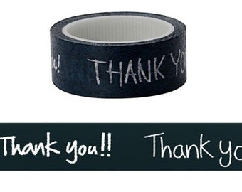 Thank you washi tape