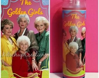 Golden Girls prayer candle
