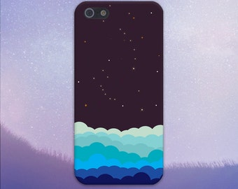 A Sky Full of Stars Case, iPhone 7, iPhone 7 Plus, Protective iPhone Case, Galaxy s8, Samsung Galaxy Case Note 5, Handmade CASE ESCAPE