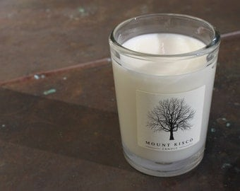 WHITE Lily of the Valley Soy MAGIC CANDLE