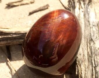 Red Tiger's Eye Egg 45 mm, 70 gram HIGH QUALITY