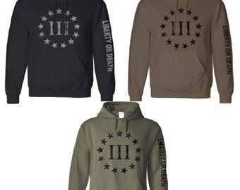 km outfitters tactical t shirts three percenter hoody. Black Bedroom Furniture Sets. Home Design Ideas