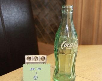 1959 Coke Bottle. Vintage Coca Cola Bottle.  Great condition.