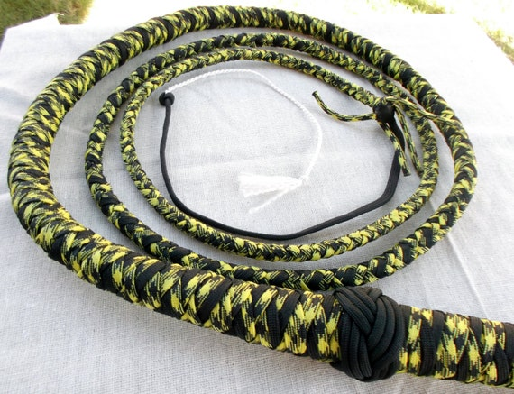 Black/yellow Stock Whip