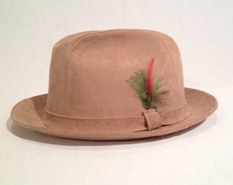 Vintage Stevens Reg. Hat. Size 7 1/8.