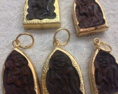 C14 Wooden Thai Charms (5pc)