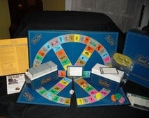 Vintage 1981 ORIGINAL Trivial Pursuit MASTER GAME Genus Edition No. 7 ~  Family Board Game night/ Dorm Game~by  Horn Abbot In: Junk Mans Gal