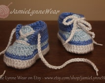 Crochet Tennis Shoes - Made to order