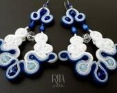 earrings soutache - GREECE -
