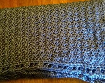 Crochet Baby Blanket -Stormy