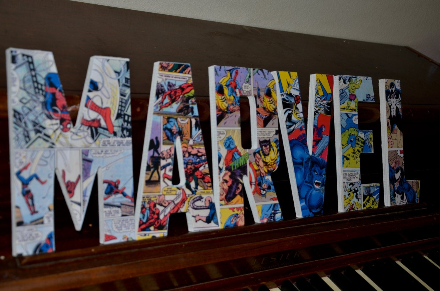 Marvel Themed Room Mesmerizing Marvel Superhero Letters Superman Bedroom Superhero Design Inspiration