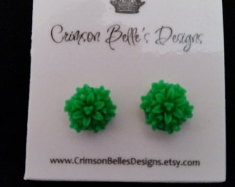 Flower Post Earrings