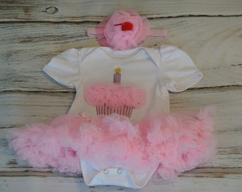 Girls tutu- Baby Tutu dress- baby tutu onesie- first birthday tutu onesie- birthday tutu dress- pink tutu- pink petiskirt-baby tutu