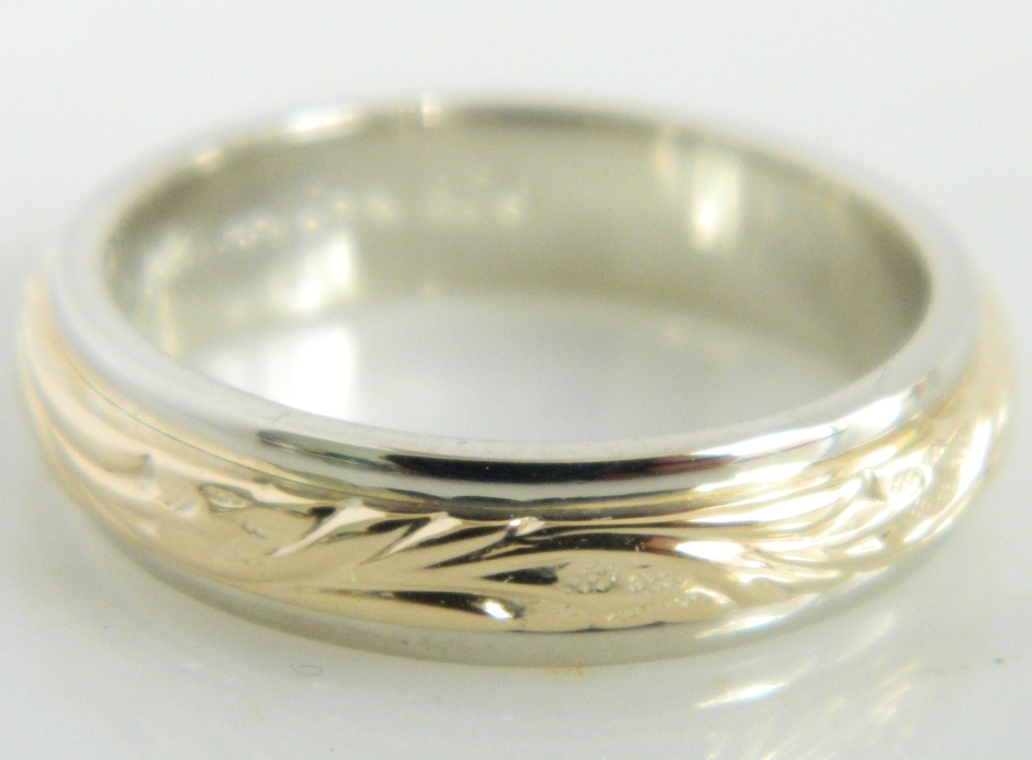 Wedding Ring With Stars