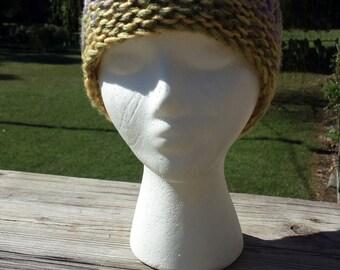 Loom Knit Drop Stitch Hat Pattern