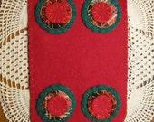 Christmas Sweater Penny Rug, FAAP, OFG, HAFair, CIJ