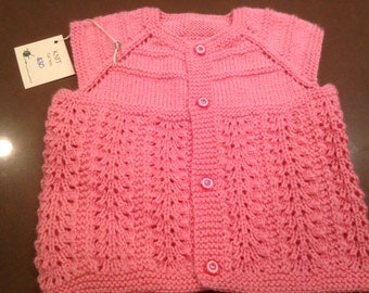 Custom Vest/Sweater, Pink Collection