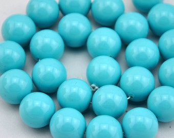 5pcs 16mm Freshwater Pearl, Turquoise Pearl Beads,16mm Pearl,Shell pearl has,Gemstone Beads--- J0091