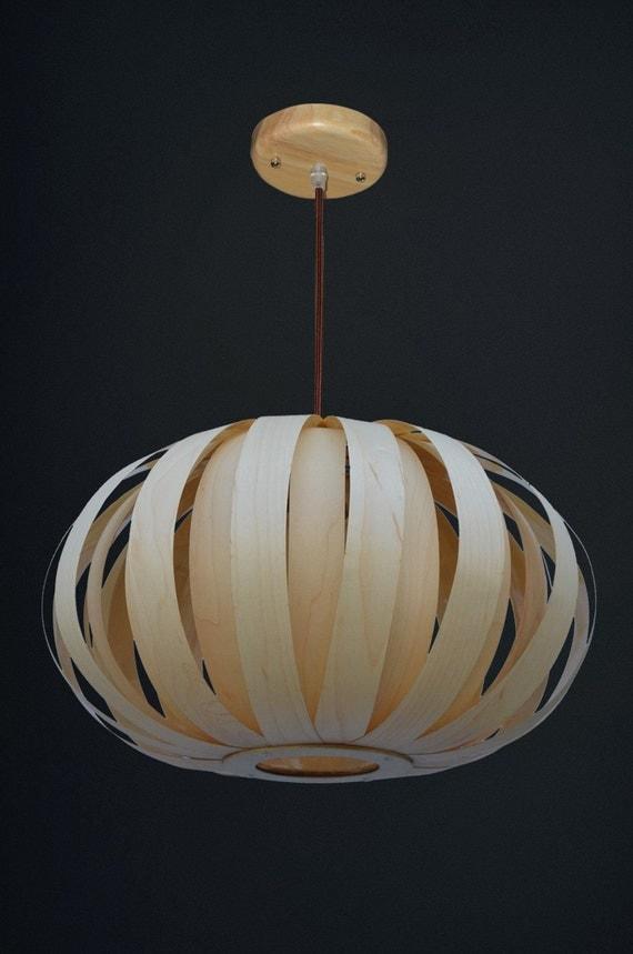 light maple veneer pendant lightpumpkin wood pendant lampmaple veneerceiling