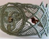 Celtic Bracelet- Sage