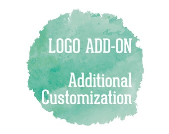 Additional customization - logo add-on