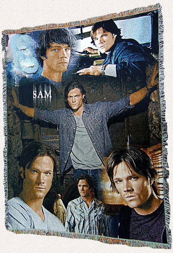 Supernatural Inspired Sam Winchester Throw Blanket