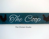 The Coop Reclaimed Wood Chicken Coop Sign