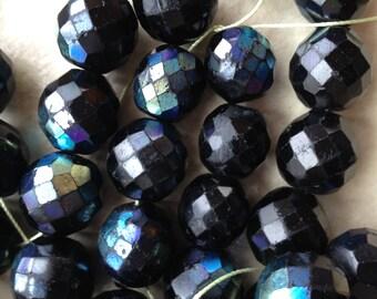 Black African Beads -- 28