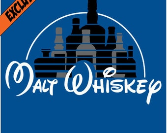 Malt Whiskey T shirt