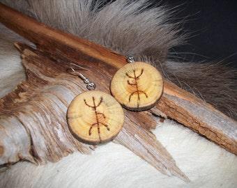 Sami-style earrings Lappland 3