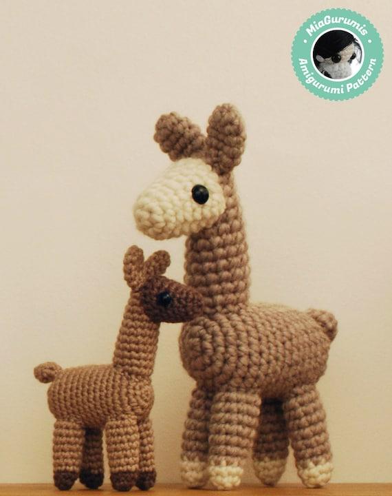 Crochet Amigurumi Llama : Crochet pattern - Llama Amigurumi pattern, Alpaca plush ...