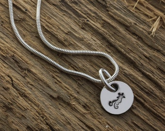 Silver Shooting Star Pendant - Fine Silver Star Necklace - Silver Shooting Star Charm - Shooting Star Charm Necklace - Star Charm Pendant
