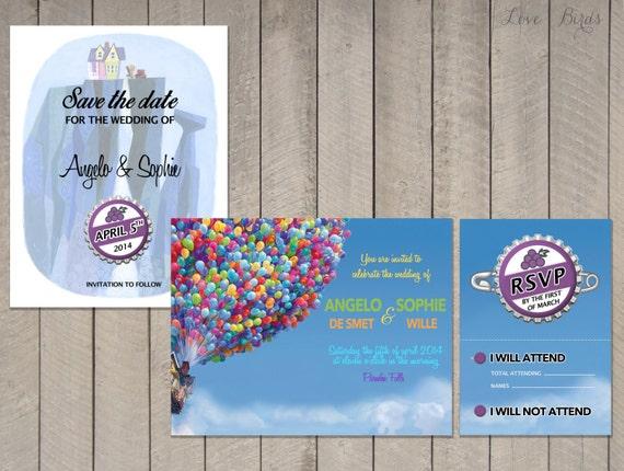 Wedding Invitation Rsvp Date: Items Similar To Wedding Invitation Set Up