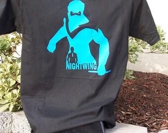 Nightwing Silhouette T-Shirt